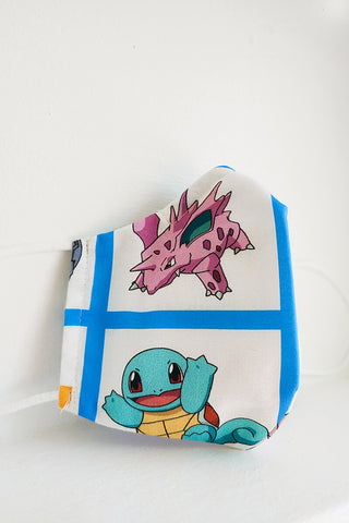Bulbasaur / Squirtle Mask