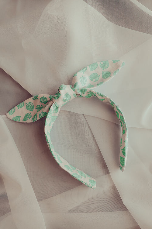 Tiny New Leaf Headband