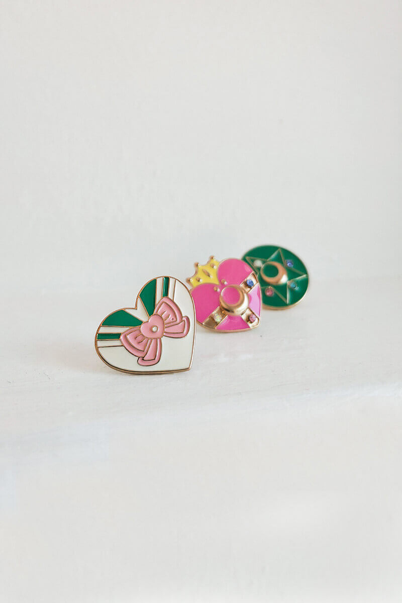 Sailor Jupiter Pin Set