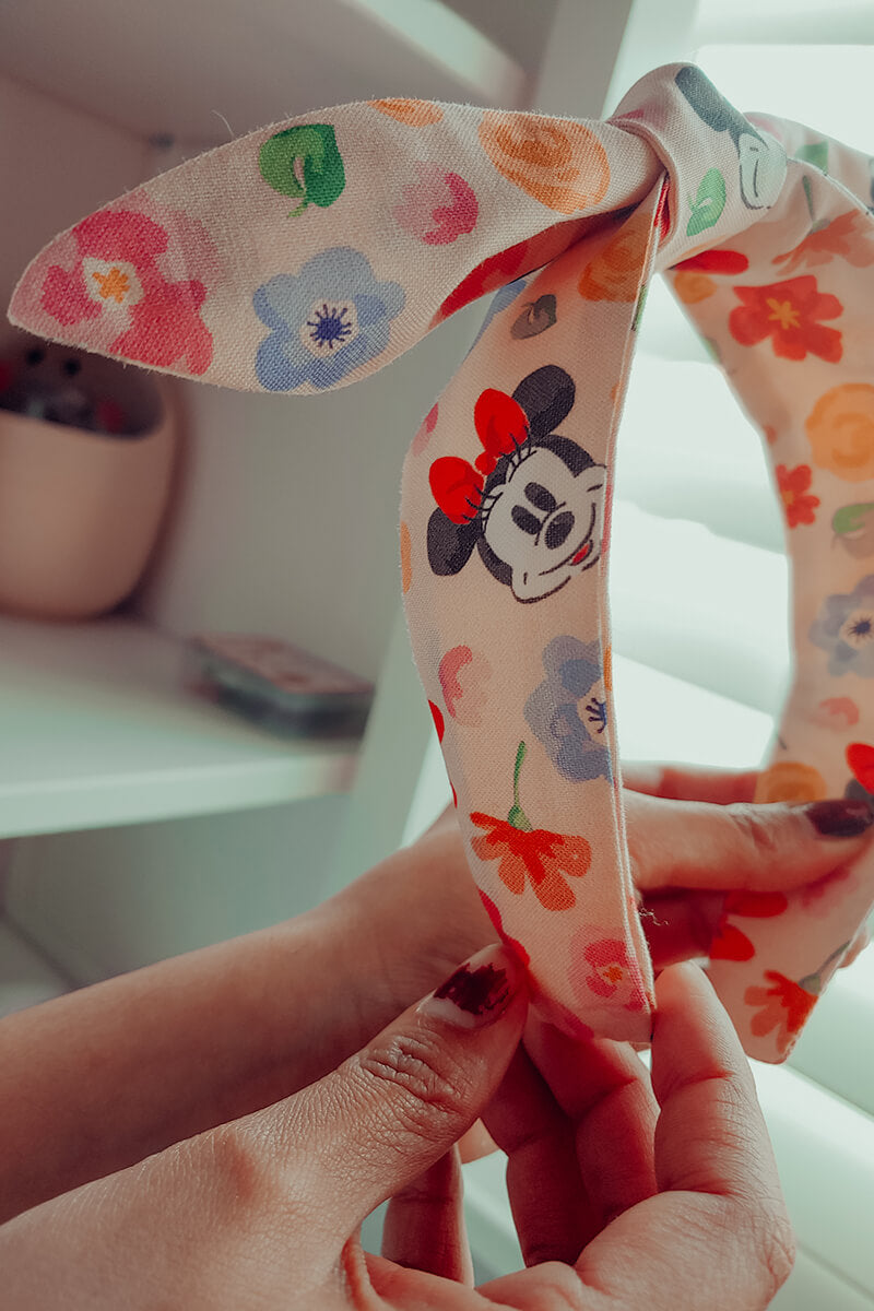 Floral Minnie Headband