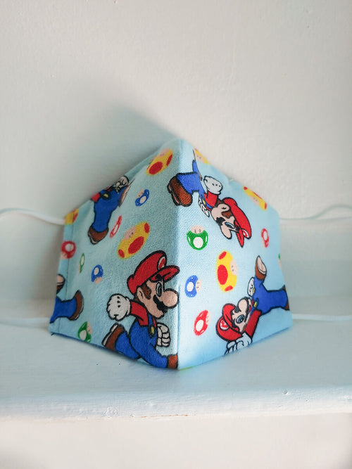 Mario Power Up Mask