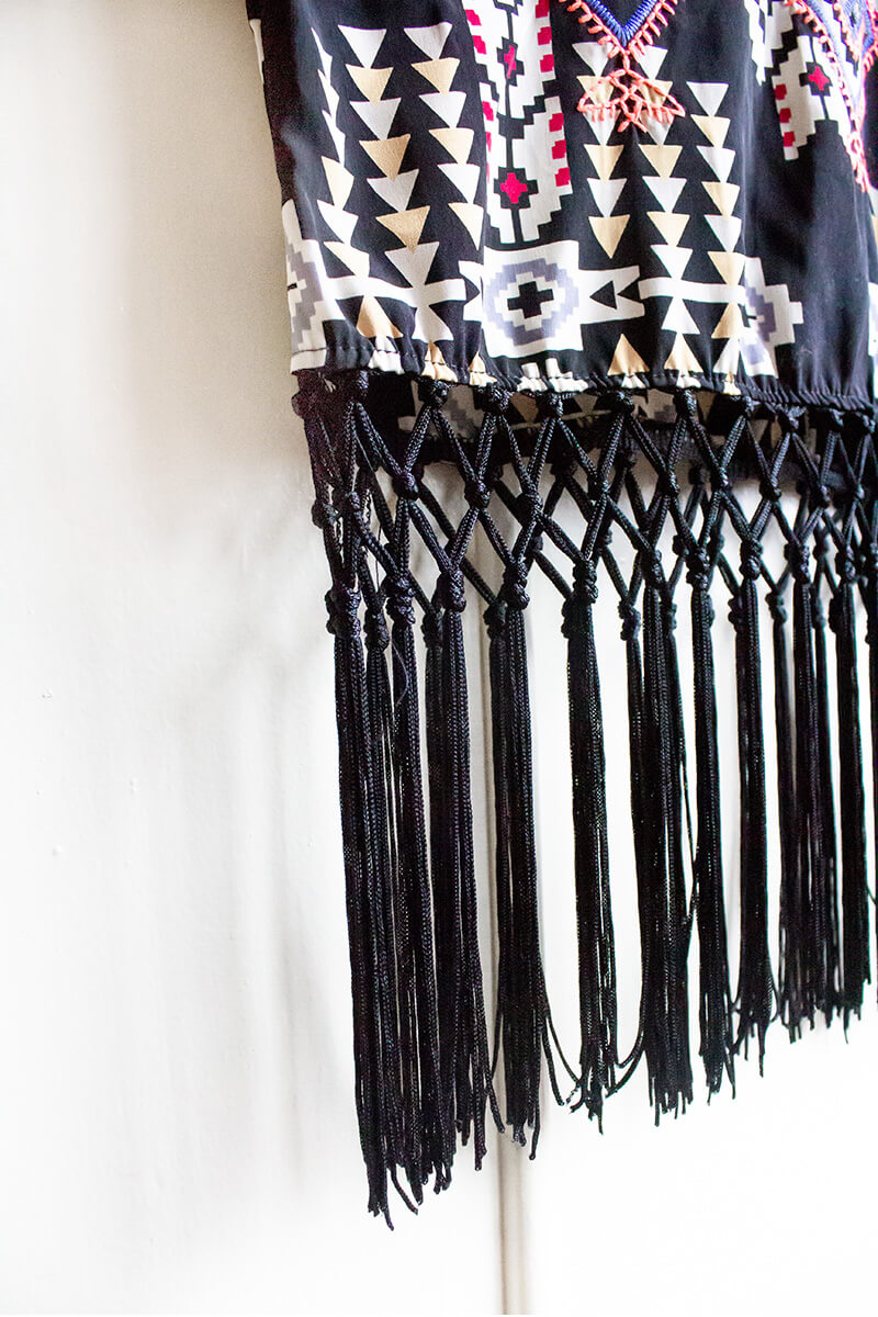 Freedom Tribe Tassle Top