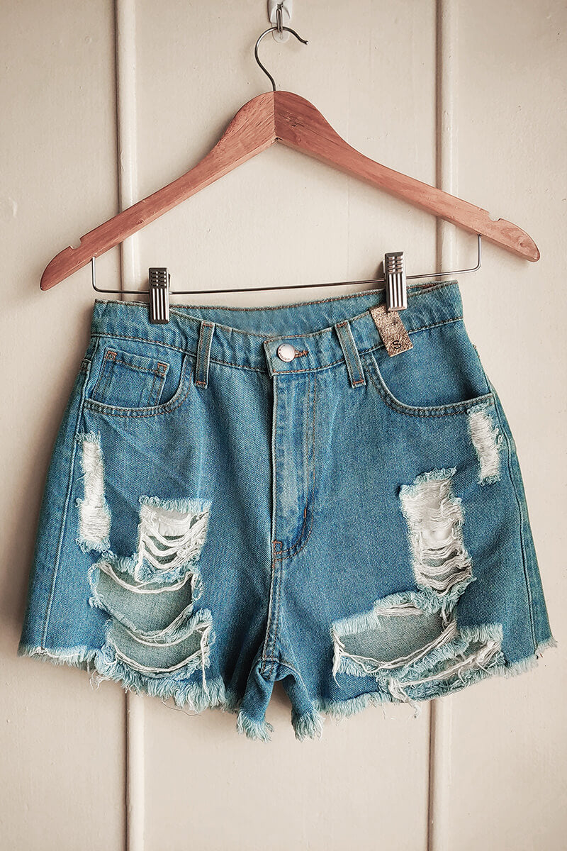 My Neighbor's Pocket Jean Shorts