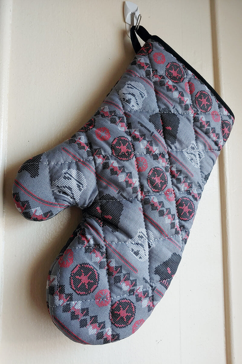 Vader Ugly Sweater Oven Mitts