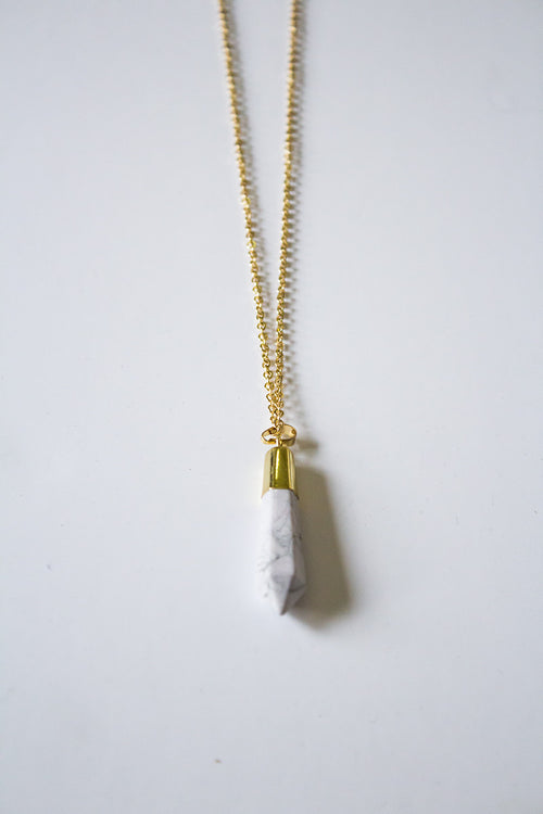 White Noise Necklace