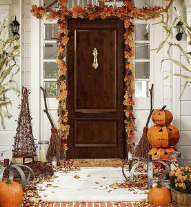 Decorating for Fall with Brass