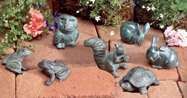 Jefferson Brass Garden Ornaments. Brass Animal Decor for Garden