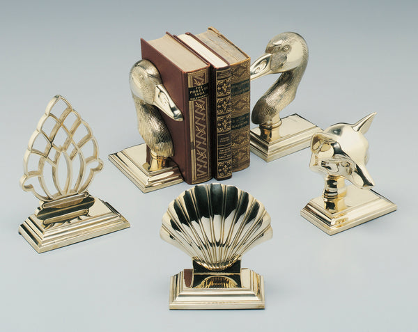 Brass Bookends and Brass Doorstops