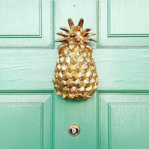 Jefferson Brass Company Pineapple Door Knocker