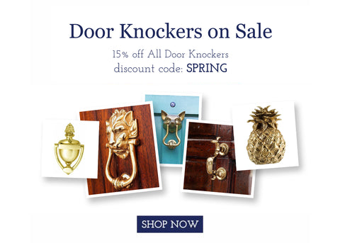 Jefferson Brass Door Knocker Sale