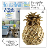 Brass Pineapple Door Knocker - House Beautiful Magazine