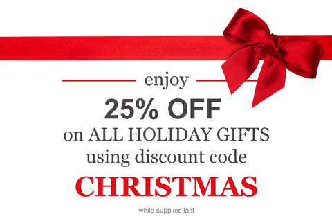 Jefferson Brass Christmas Sale 25% Off Holiday Gifts