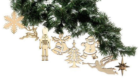 Brass Christmas Ornaments