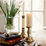 Jefferson Brass Candlesticks