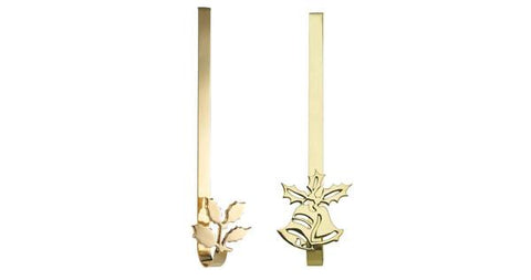 Brass Wreath Hangers