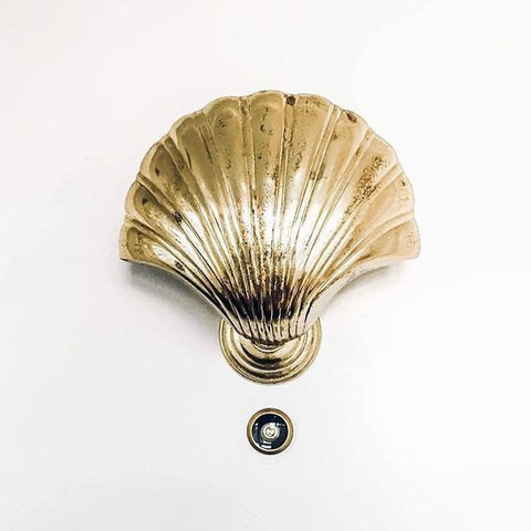 Brass Shell Door Knocker