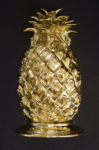 Large Pineapple Bookend and Door Stop - Jefferson Brass Company