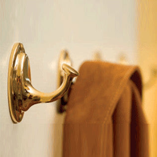 Small Brass Coat Hook - Jefferson Brass Company