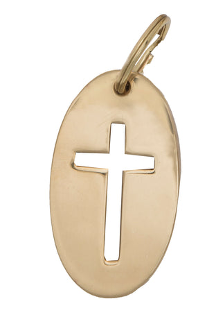 Cross Key Ring - Jefferson Brass Company