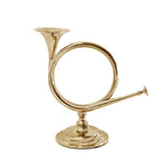 Fox Horn Brass Candlestick - Jefferson Brass Company