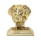 Labrador Bookend and Door Stop - Jefferson Brass Company