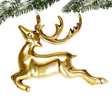 Prancing Reindeer Ornament - Jefferson Brass Company
