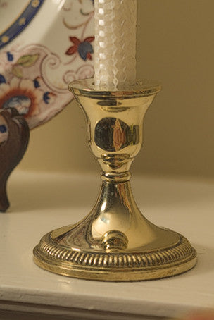 Savannah Brass Candle Holder - Jefferson Brass Company