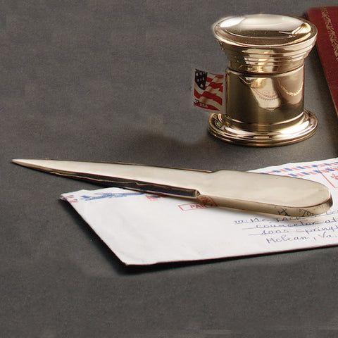 Small Brass Letter Opener - Jefferson Brass Company