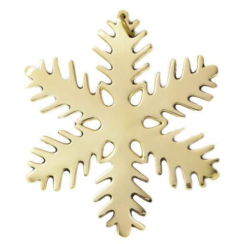 Snowflake Ornament - Jefferson Brass Company