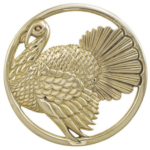 Brass Turkey Trivet - Jefferson Brass Company