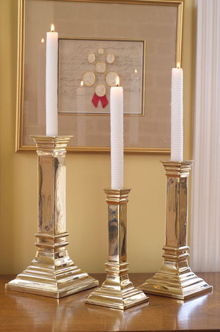 Novelli Brass Candle Holder - Jefferson Brass Company