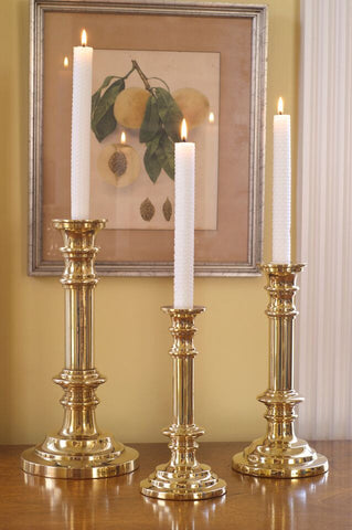 Tiffany Brass Candle Holder - Jefferson Brass Company