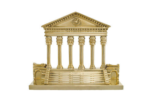 VA Steps and Colonnade Bookend (Pair) - Jefferson Brass Company