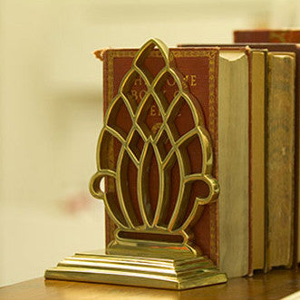 Pineapple Bookend and Doorstop - Jefferson Brass Company