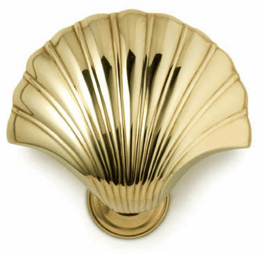 Shell Door Knocker - Jefferson Brass Company