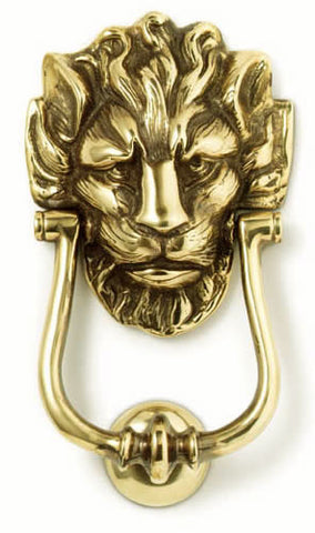 Lion Door Knocker - Jefferson Brass Company