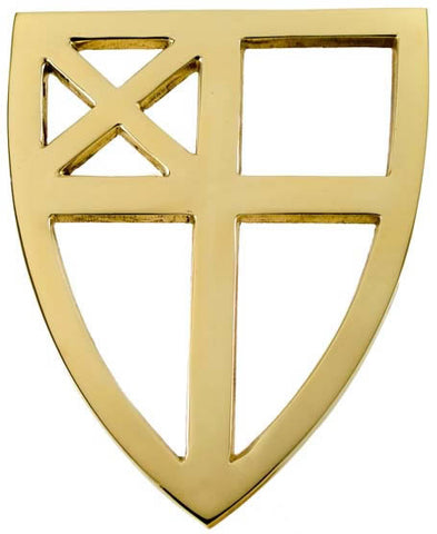 Episcopal Brass Trivet - Jefferson Brass Company