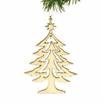 Christmas Tree Ornament - Jefferson Brass Company