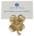 Dogwood Flower Paperweight Clip - Jefferson Brass Company