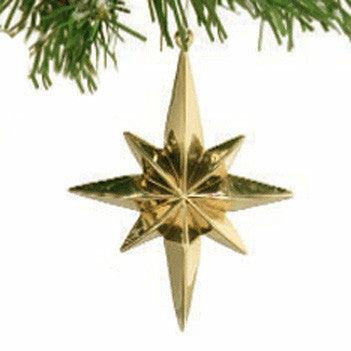 Star of Bethlehem Ornament - Jefferson Brass Company