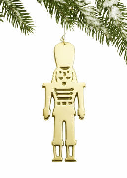 Nutcracker Ornament - Jefferson Brass Company