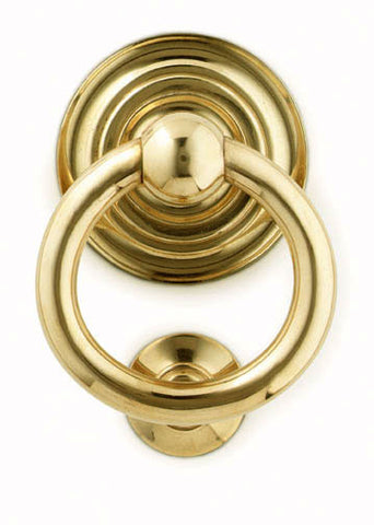 Classic Ring Door Knocker - Jefferson Brass Company