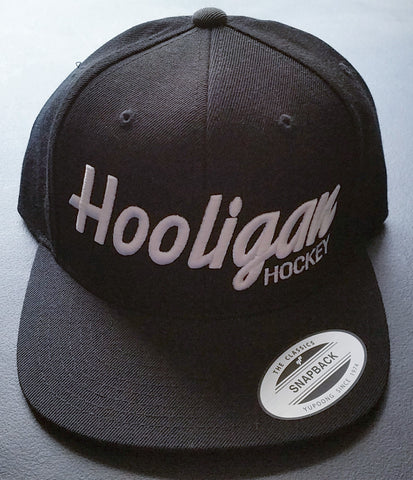 All Black Hooligan Snapback