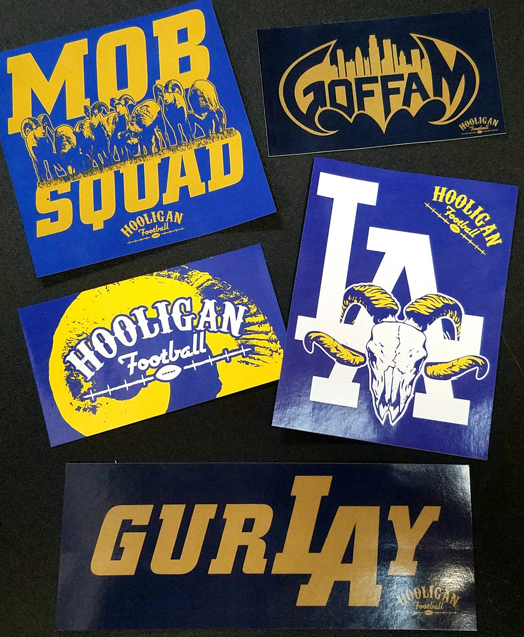 Hooligan Football Sticker Pack