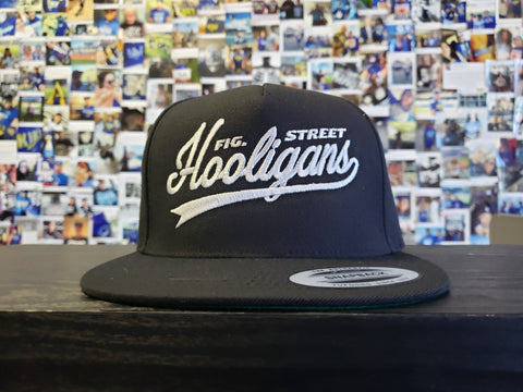 Fig St Hooligans Script - Snapback Hat