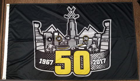 50th Crown Flag