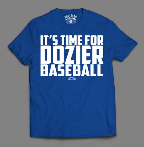 It's Time For Dozier Baseball - Youth