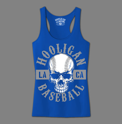 Hooligan Baseball Skull - Womens