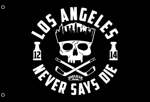 LA Never Says Die Flag