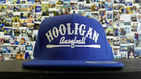 Hooligan Baseball Logo Snapback Hat